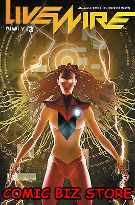 Livewire #2 (2019) 1St Printing Pollina Cover A Valiant Comics