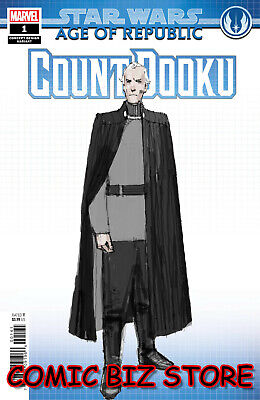Star Wars Aor Count Dooku #1 (2019) 1St Printing Concept Design Variant Cover
