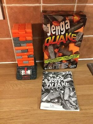 JENGA QUAKE the Explosive Jenga Tower Game with Aftershocks Complete in Box