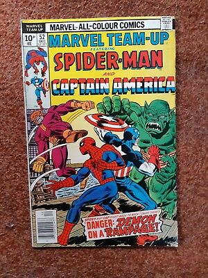 Marvel Team Up 52 - Spiderman And Captain America