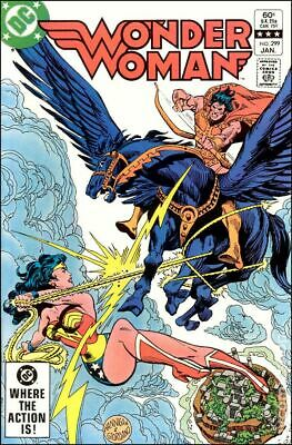Wonder Woman (1st Series DC) #299 1983 VG Stock Image Low Grade