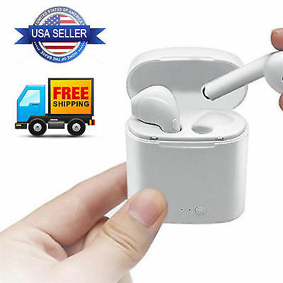 NEW 2019 Bluetooth Wireless Headset PREMIUM Quality Earbuds -USA Seller