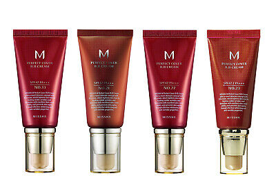 [MISSHA] M Perfect Cover B.B Cream SPF 42 PA+++ (#13 , #21 , #27) - 50ml