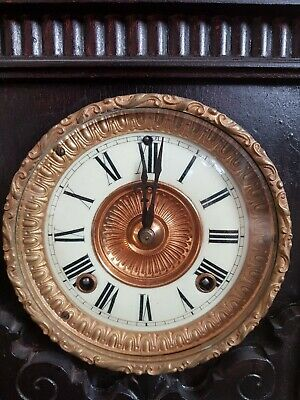Antique mantel carriage clocks pre-1900 Enfield 8 day striking clock