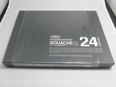 [NEW] Holbein Artists Gouache G715 15ml tube 24color  [FREE Ship from JAPAN]