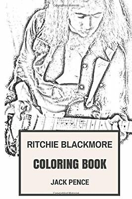 DEEP PURPLE COLORING Book : English Rock Legends and Heavy ...
