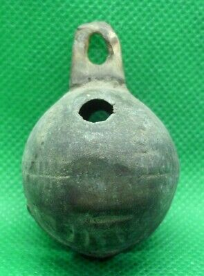 Ancient Celtic Druids Votive Bronze Bell - 400/300 Bc - Working