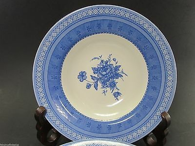 3 Churchill Out of the Blue  Rim Soup  Bowl/s Set of 3 Bowls