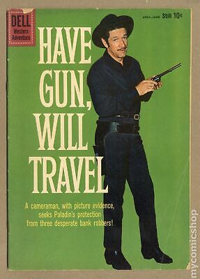 Have Gun Will Travel #5A 1960 Ad Back Cover Variant VG- 3.5