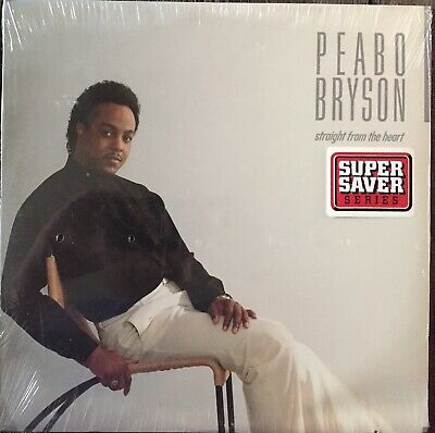 Peabo Bryson ‎– Straight From The Heart LP Vinyl 1984 Record NEW & SEALED