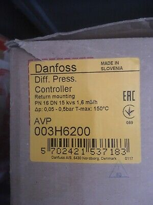 Danfoss Differential Pressure Controller