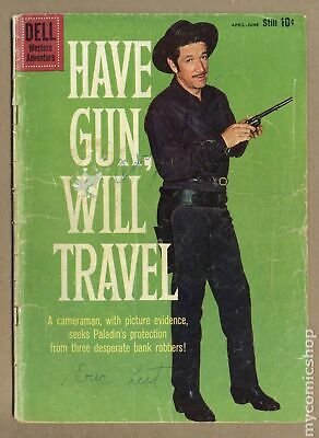 Have Gun Will Travel #5B 1960 Gold Mining Back Cover FR/GD 1.5