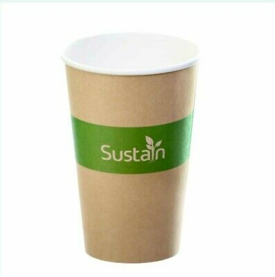 Paper Hot Cups 16oz  Biodegradable Coffee Cups x 1000 cheapest on Ebay