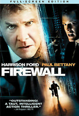 Firewall (DVD, 2006, Full Frame) - Disc Only