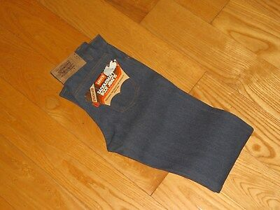 Levi's Saddleman Boot Jeans Orange Tab Students 25x32 Deadstock Rare Vintage