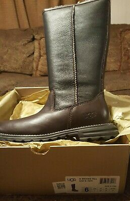 d3a50e75c0c $275 UGG BROOKS Tall 5490 Women's Genuine Leather/Suede Boots Size ...