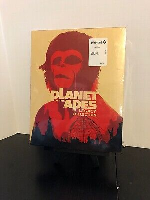 Planet of the Apes Legacy Collection on Blu ray BRAND NEW