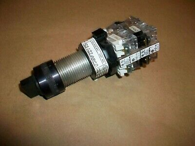 OZ Gedney Explosion Proof Selector Switch SS122ABCD  Two Position Maintained