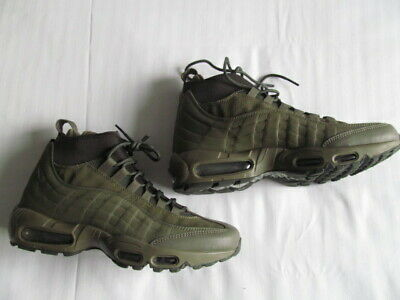 pretty nice 3766c 5c437 NIKE AIR MAX 95 Sneakerboot 806809 202 man green shoes sz 9 Brand New