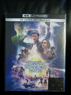 Ready Player One 4K UHD Blu-Ray Steelbook Manta Lab Full Slip New Mint Sealed