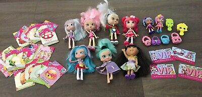 Bulk Lot Shoppies Dolls & Shopkins Collector Cards & Cabbage Patch Doll *Great*