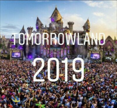 2 x Tomorrowland 2019: Magical Friday Pass W2 26.07.2019 Tickets Karten