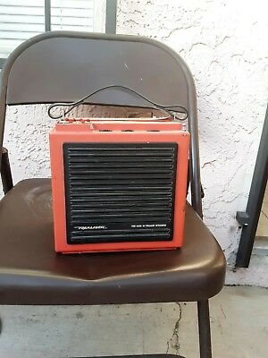 1960's AMFM 8 TRACK REALISTIC STEREO RADIO PLAYER WORKS