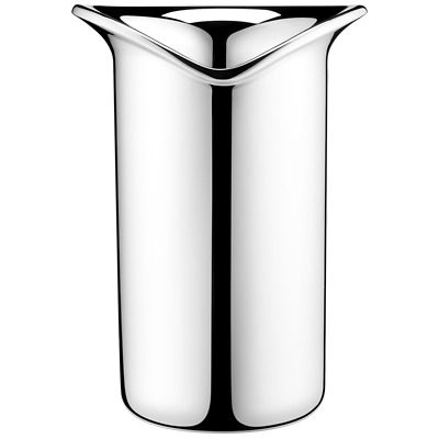 Georg Jensen Mirror Polished Stainless Steel Wine Cooler New