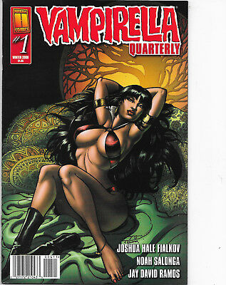 Vampirella Quarterly Winter 2008 Cover A by Joyce Chin NM