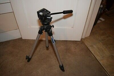 Bogen Manfrotto Tripod 3001 with 3130 head, Made In Italy