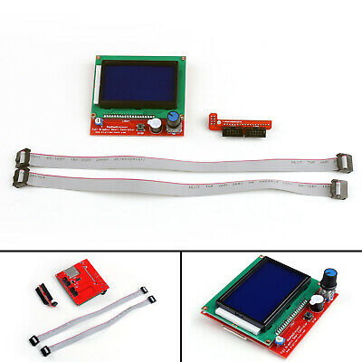 RAMPS1.4 LCD12864 Full Graphic LCD Display Smart Controller For 3D Printer AU UM