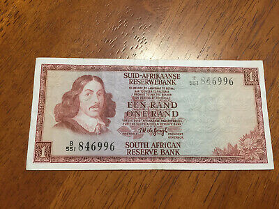 South Africa 1 Rand 1967 Circulated Condition