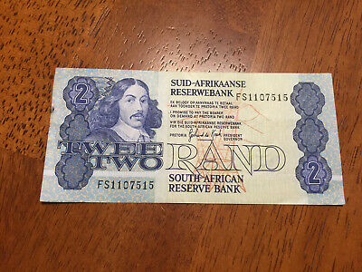 South Africa 2 Rand 1983 banknotes circulated  P.118d (EF)