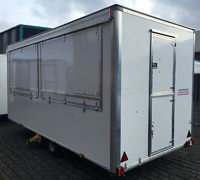 Catering trailer brand new 16ft x 7ft twin axel TYPE APPROVED