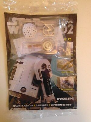 DeAgostini Star Wars Build Your Own R2-D2 Issue 72 NEW & SEALED