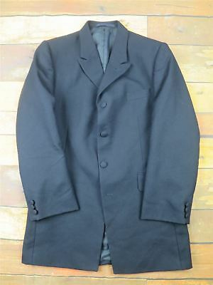 "Navy Stripe U4W Smart Frock Coat 34"" Chest - Teen - Boys - Small Adult"
