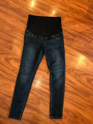 H&M MAMA Maternity Over the Bump Skinny Jeans Size 12 EURO 42