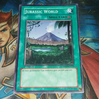 Yugioh Jurassic World SD09-EN019 1st Ed Common Near Mint Fast Shipping!