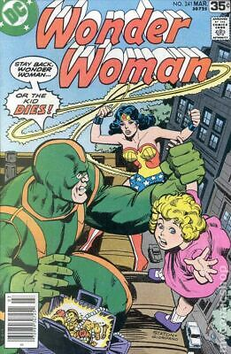 Wonder Woman (1st Series DC) #241 1978 VG/FN 5.0 Stock Image Low Grade