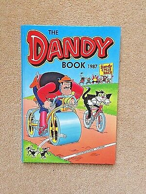 The Dandy Book 1987 - fantastic as new collector's mint condition, unclipped