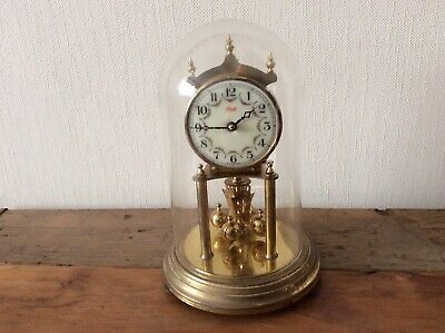 Kundo Glass Domed Anniversary Clock For Spares Or Repair