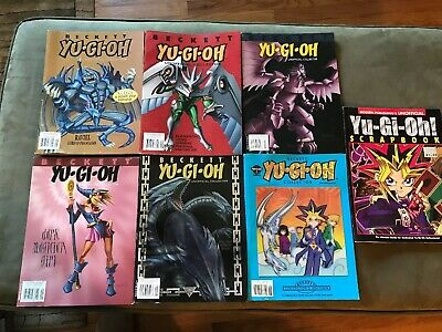 Seven Beckett Yu Gi Oh Collector, Unofficial Collector And Scrapbook Magazines