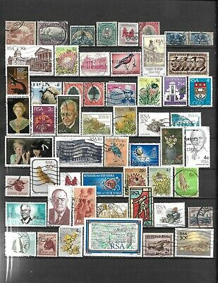 Collection Lot Of 110 South Africa Stamps 1927+ 2 Scan