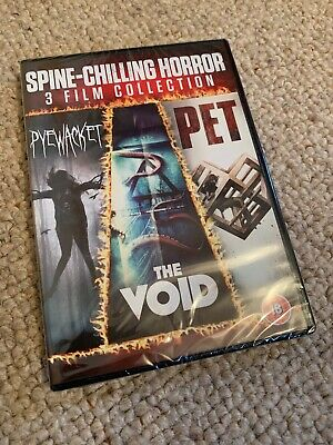 Spine-Chilling Horror, 3 Film Dvd Collection, Pyewacket, Pet, The Void, New/seal