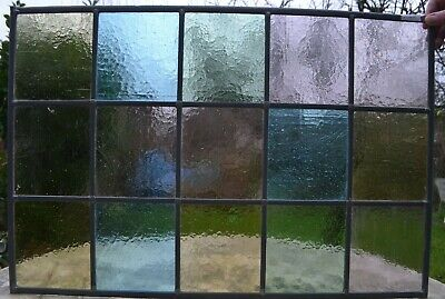 48 x 71cm traditional stained glass window panel. NEWLY MADE. R131k.