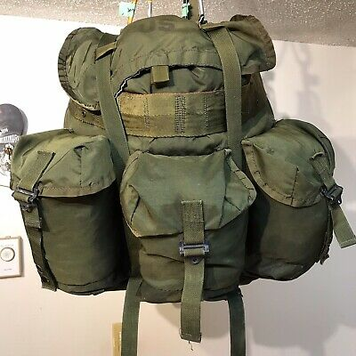 US Military A.L.I.C.E. Pack With Frame Very Good Used Condition