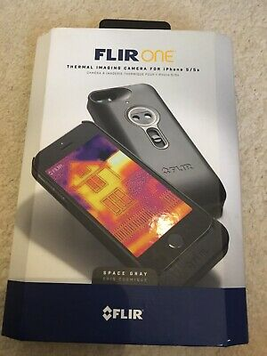 Flir One thermal imaging camera for iPhone 5 5s SE. Used 3 Times