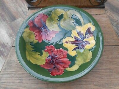 Large William Moorcroft Shallow Bowl Immaculate