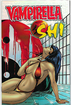 Vampirella Shi Chromium Edition Limited To 750 Warren Ellis NM
