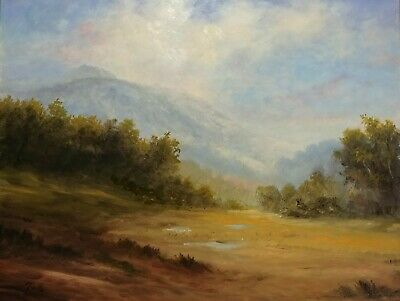 "Tim Pfeiffer Original Landscape Oil Painting on panel  8"" x 10"""